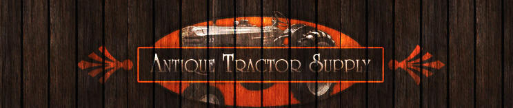 Antique Tractor Supply Header