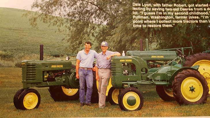 Picture that appeared in the February 1994 Successful Farming magazine